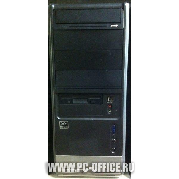 "Бюджетный системный блок ""X-F"" ( phenom X4810 3Ггц 4Gb 120Gb windows 7 )"