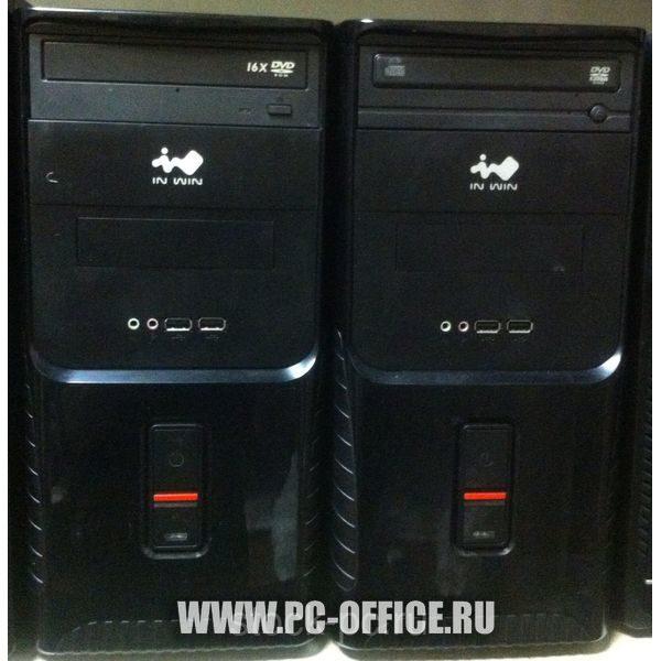 """Бюджетный офисный системный блок """"in win"""" ( xeon 5440 2.9Ггц 4Gb 80Gb windows 7)"""