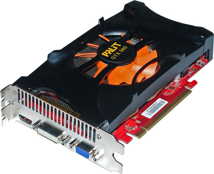 видеокарта GTX 560 1Gb/256 bit