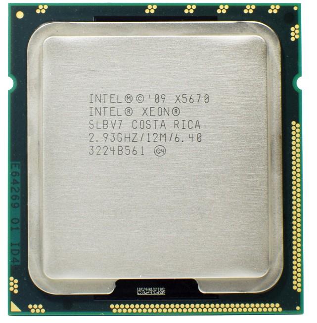 Процессор Xeon x5670