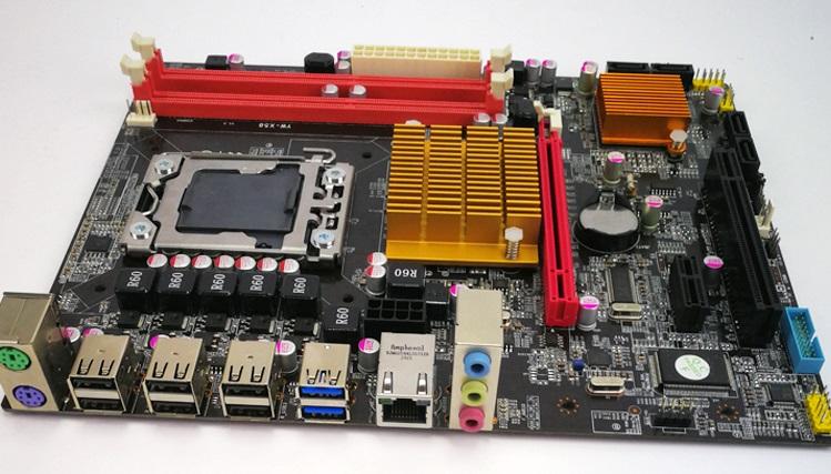 Материнская плата Intel KEFU X58 motherboard /1366/ECC DDR3 1600/USB 3.0